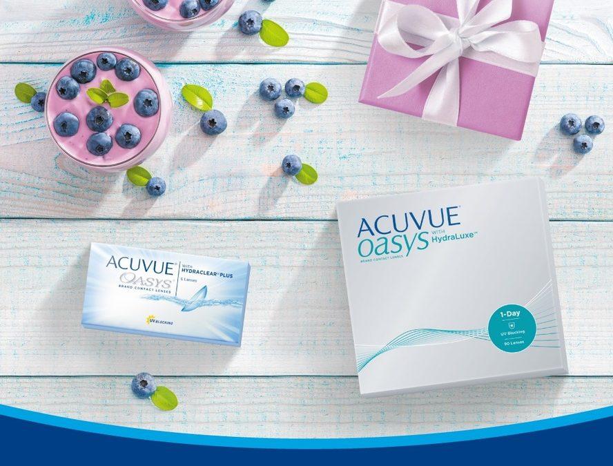 Подарки  от  ACUVUE!
